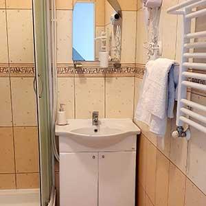 Hotel Pasja łazienka